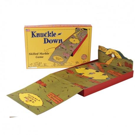 Joc de îndemânare cu bile de sticlă (Knuckle – Down)
